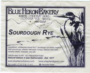Blue Heron Sourdough Rye